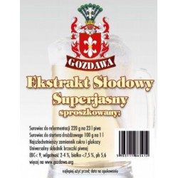 Ekstrakt słodowy GOZDAWA 220g superjasny sproszkowany