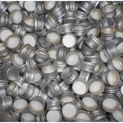 Zakrętka Zakrętki srebrne butelek monopolowych 28x18 10szt