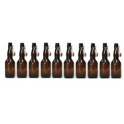 Butelki butelka 0,5l PUB zamknięcie pałąkowe piwo 10 sztuk