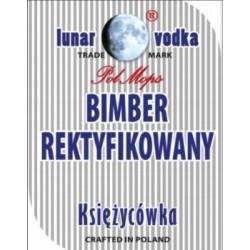 Etykieta naklejka na butelkę butelki BIMBER REKTYFIKOWANY 10szt