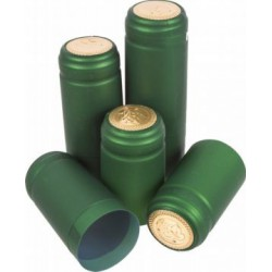 Kapturki termokurczliwe zielone 10szt