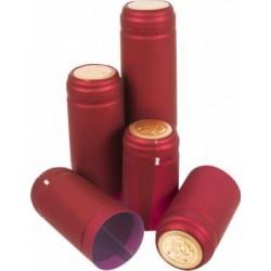 Kapturki termokurczliwe czerwone 10szt