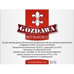 Gozdawa drożdże piw pszenicznych Fruit Blanche G1