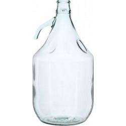 Gąsior na wino Dama z uchwytem szklanym 5l
