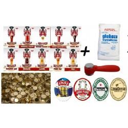 Zestaw do piwa Gozdawa Etykiety Kapslownica Kapsle +GRATIS