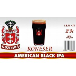 Piwo brewkit KONESER AMERICAN BLACK IPA Gratis