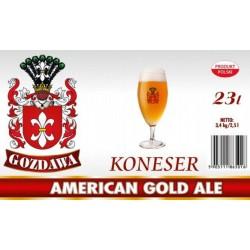 Piwo brewkit KONESER AMERICAN GOLD ALE Gratis