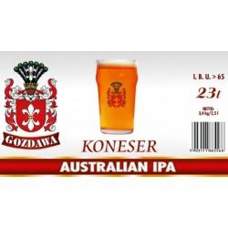 Piwo brewkit KONESER AUSTRALIAN IPA Gratis