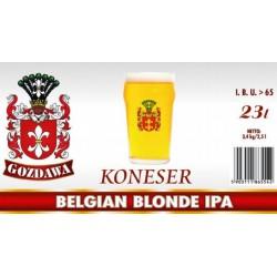 Piwo brewkit KONESER BELGIAN BLONDE IPA Gratis