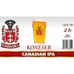 Piwo brewkit KONESER CANADIAN IPA Gratis