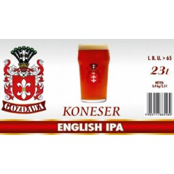 Piwo brewkit KONESER ENGLISH IPA Gratis