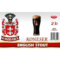 Piwo brewkit KONESER ENGLISH STOUT Gratis