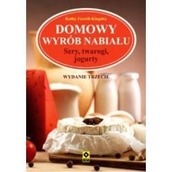 Książka Domowy wyrób nabiału Kathy Farrel-Kingsley