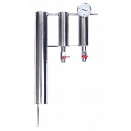 CHŁODNICA do destylatora z dwoma odstojnikami i termometrem
