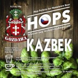Chmiel KAZBEK korzenno-cytrusowy piwo domowe