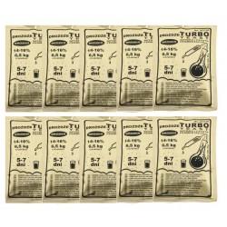 Drożdże gorzelnicze TURBO 5-7 dni cukrówka 10szt