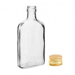 Piersiówka 200 ml butelka z zakrętką na nalewki