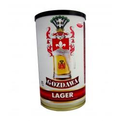 Piwo domowe Lager 1,7kg Ekstrakt Gozdawa BREW-KIT