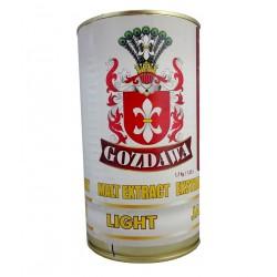 Ekstrakt słodowy GOZDAWA JASNY PŁYNNY 1,7kg/1,25l