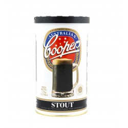 Piwo domowe Coopers STOUT brewkit brew kit GRATIS