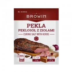 Peklosól z ziołami PEKLA 67g na 2kg mięsa