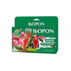 BIOPON Eliksir do pelargonii i innych roślin balkonowych 5x15ml + 1 gratis