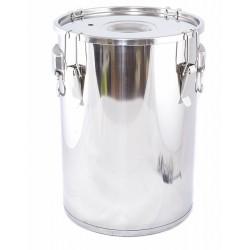 Garnek, gar 24 litrów ze stali nierdzewnej