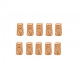 Korek aglomerowany stożkowy 18/23 wina nalewki 10szt
