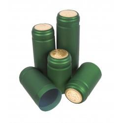 Kapturki termokurczliwe zielone 100szt
