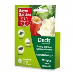 Decis ogród 015EW na mszyce owady Bayer 2x 5ml