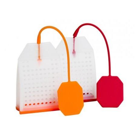 Silikonowy zaparzacz do herbaty torebka kpl. 2szt