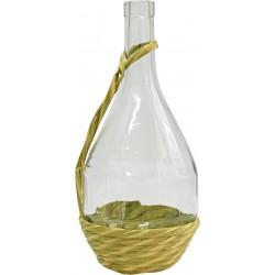 Butelka Fiasco 1L w oplocie,z rączką