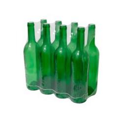 Butelka zielona do wina 0,75l 8szt