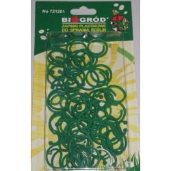 Zapinki plastikowe do spinania roślin mix 50szt