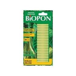 BBIOPON pałeczki nawozowe do roślin zielonych 30szt
