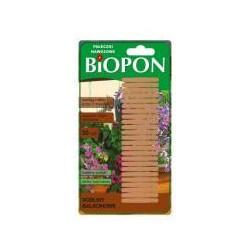 BIOPON pałeczki nawozowe do roślin balkonowych 30szt