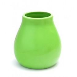 Matero Ceramiczne energetyczna zieleń naczynko do picia yerba mate