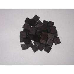 Kostki dębowe małe 1x1x1 mocno opiekane 40g płatki